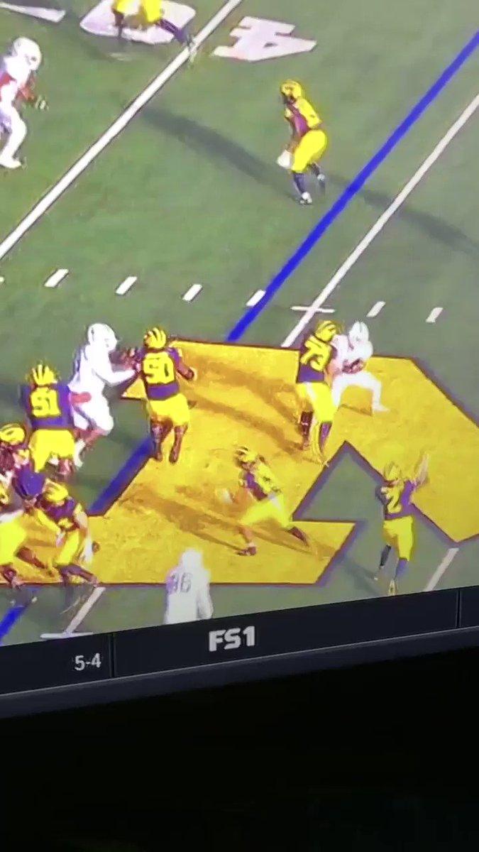 Michigan football MSU Spartans Panasiuk dirty players late hit