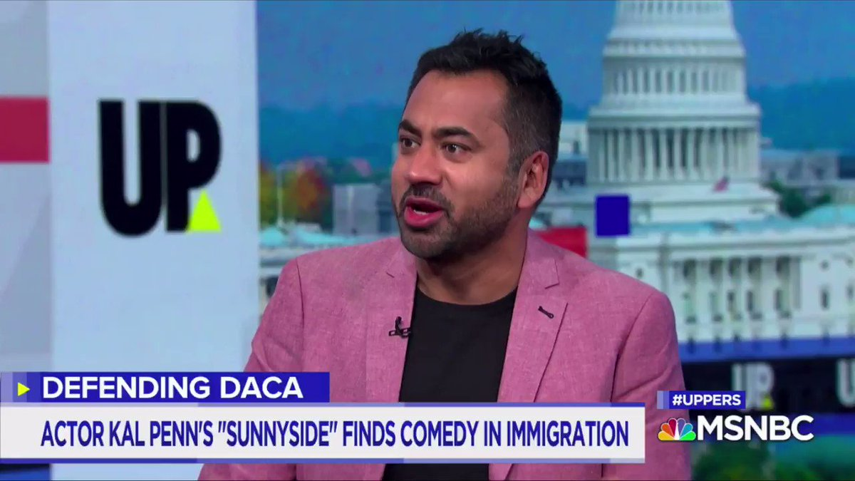 Thanks for having me on this morning to chat #DACA and #Sunnyside @davidgura @MSNBC.