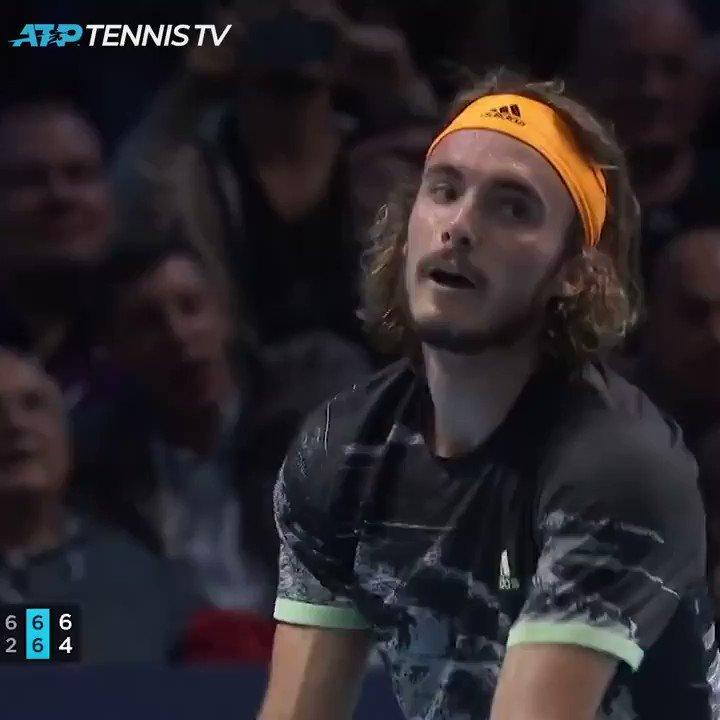 Greece's Tsitsipas battles past Thiem to clinch ATP Finals title