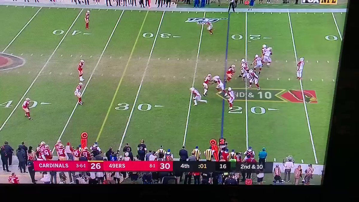 Cardinals vs. 49ers: Meaningless TD leads to NFL bad beat of the year
