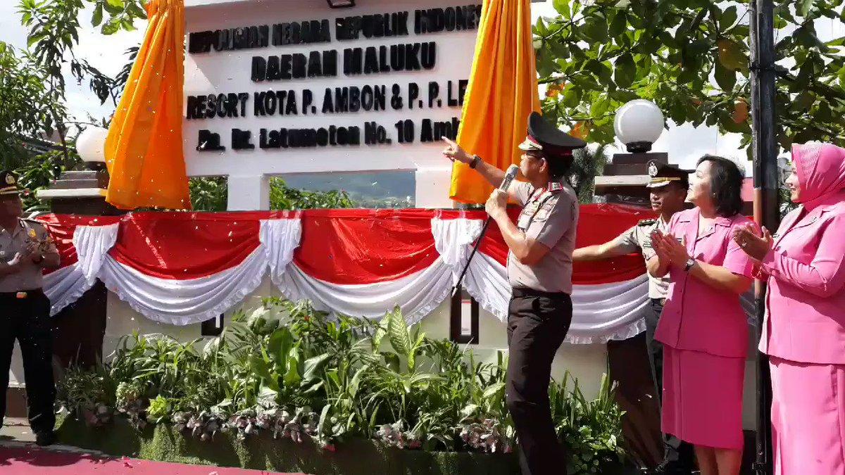 Akhirnya naik status Polresta Pulau Ambon  dan Pulau Pulau Lease @DivHumas_Polri#polisiindonesia #polri #polripromoter