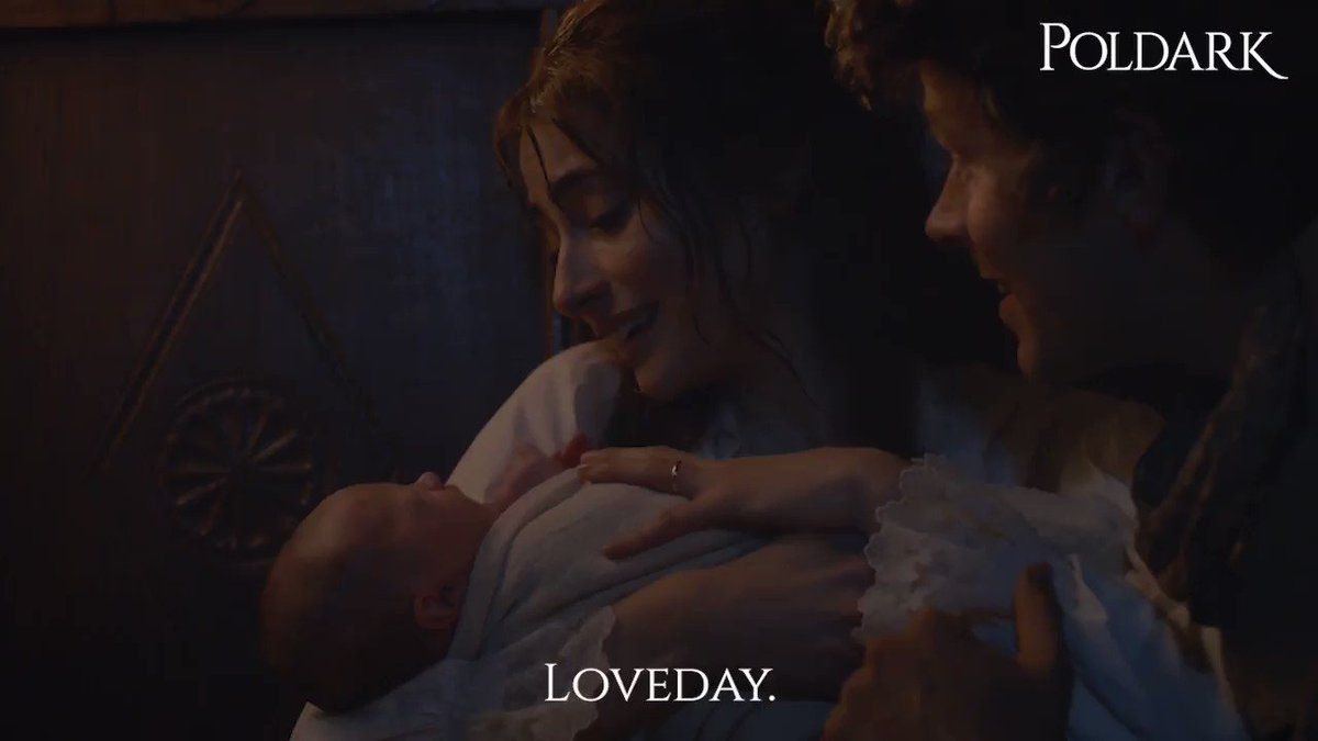 This moment is so pure 😍 #PoldarkPBS