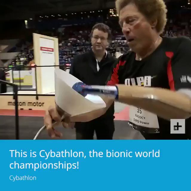 Image for the Tweet beginning: Bionic world championships!  #AI #IoT #Robotics