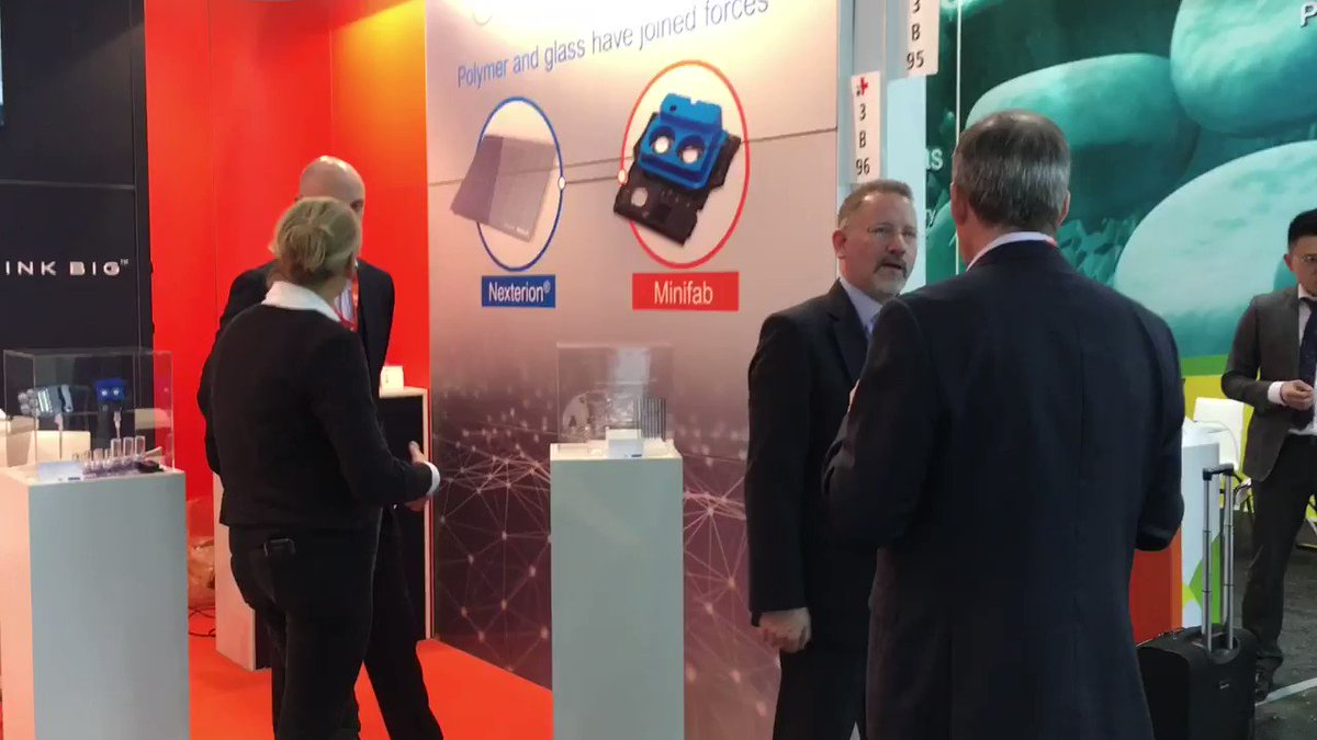 Image for the Tweet beginning: #Medica2019 is open for business.