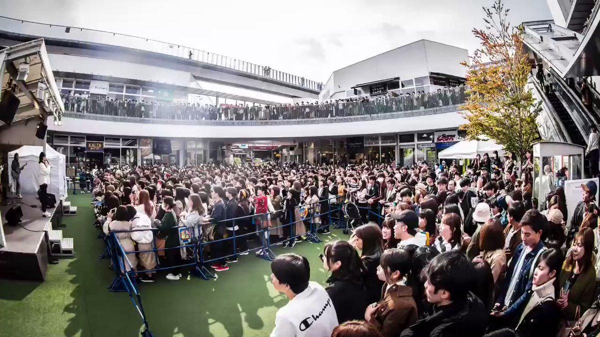 世界一の口笛と極上のバラードで大阪のショッピングモールをジャックした瞬間がこちら。