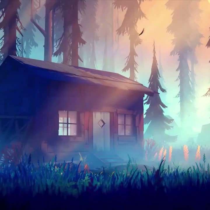 Among Trees is a small vibrant survival sandbox, set in a colorful wilderness teeming with life. Build a cabin, explore the forest, grow plants, and eat the food you forage. @AmongTreesGame