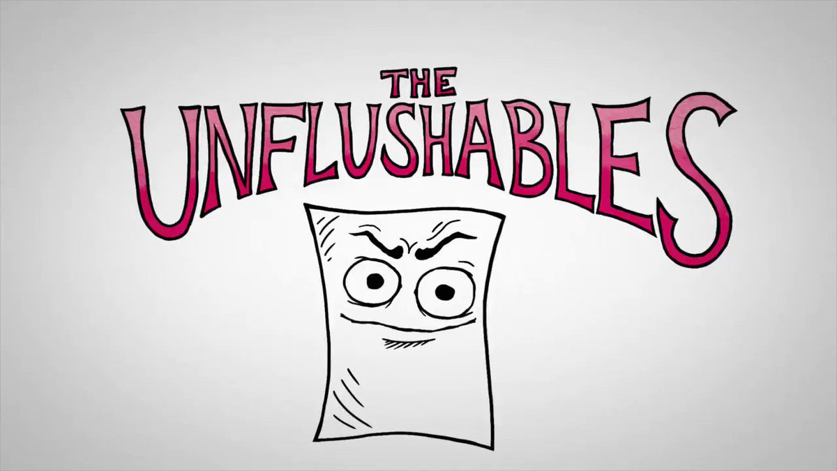 #DYK That flushable wipes cause sewer backups, even if they are labelled as flushable? Flushable wipes should be disposed of in the green organics cart. Find out more at theclog.ca #TheClog #WorldToiletDay