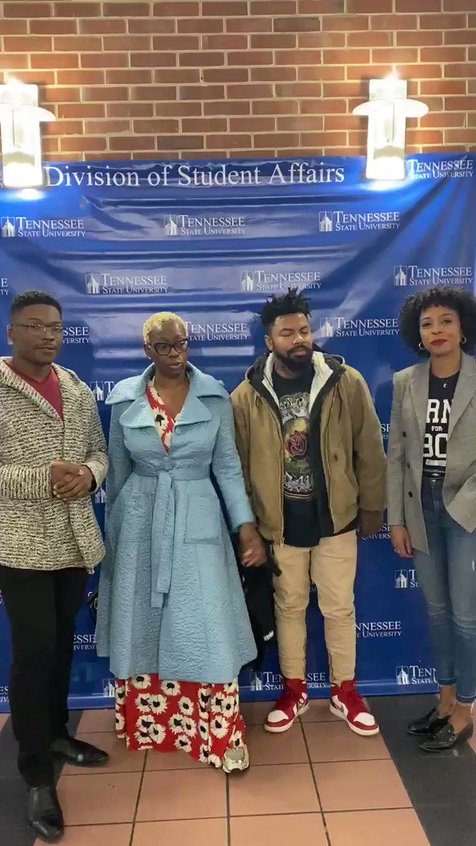 It's happening! #BernieForHBCU takeover of the Blavity Politics account!   We had an amazing time at @TSUedu and are en route to Alabama!   @iPhilSomething @ninaturner @JaymalGreen   Sign up for our HBCU outreach program at  !