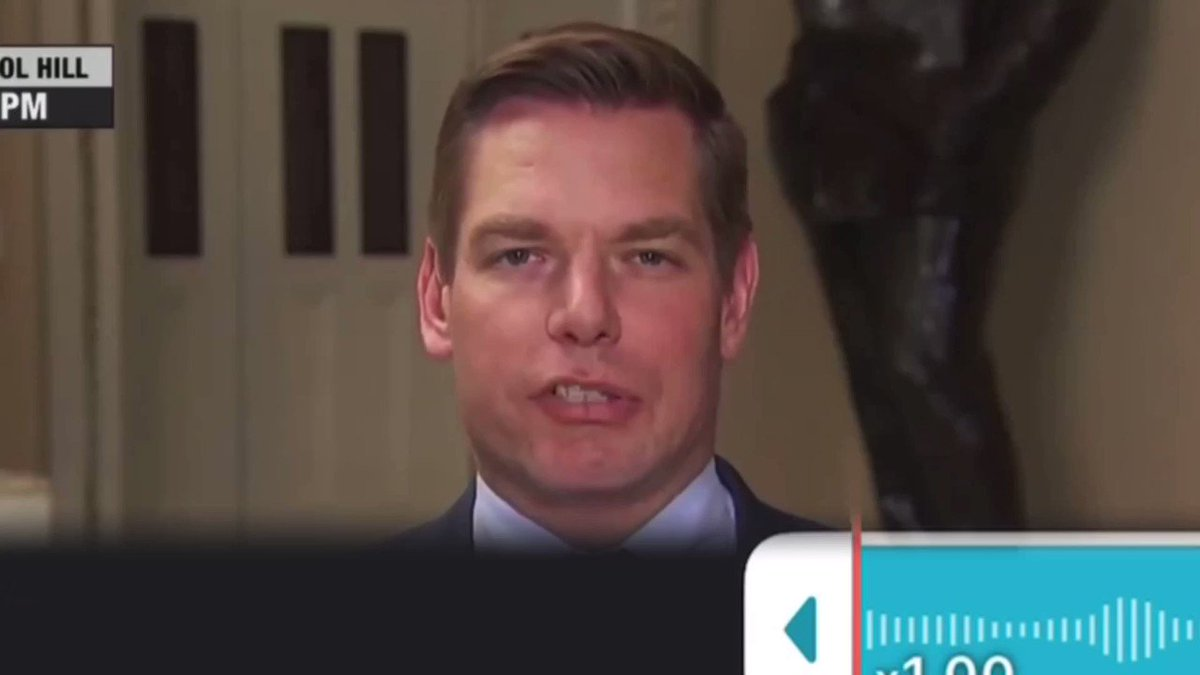 So after  @ericswalwell denied responsibility for the fart on MSNBC, we asked our audio expert to review the tape, he concluded that it's definitely his and his alone, he even provided us with the audio waves.