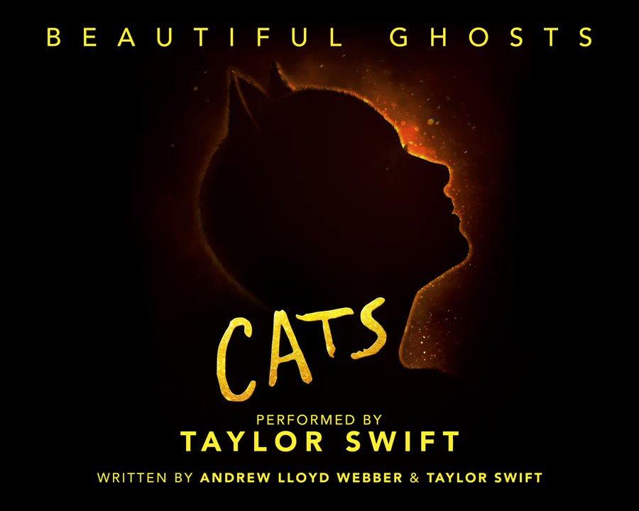 Stream #BeautifulGhosts by @taylorswift13, the latest single to @catsmovie! 🎧 lnk.to/TS_BGcatsTP #CatsMovie will open in cinemas Dec 19th.