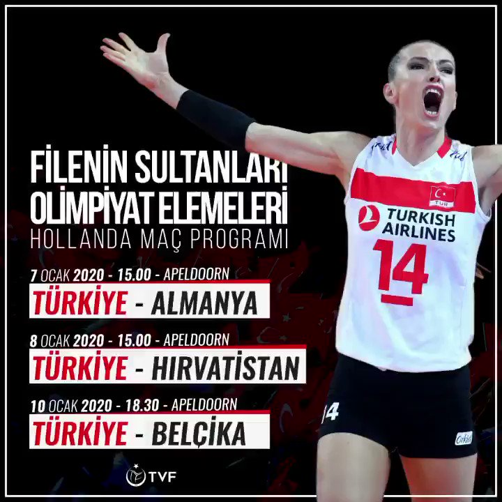 Image for the Tweet beginning: Filenin Sultanları, 7-12 Ocak'ta Hollanda'nın