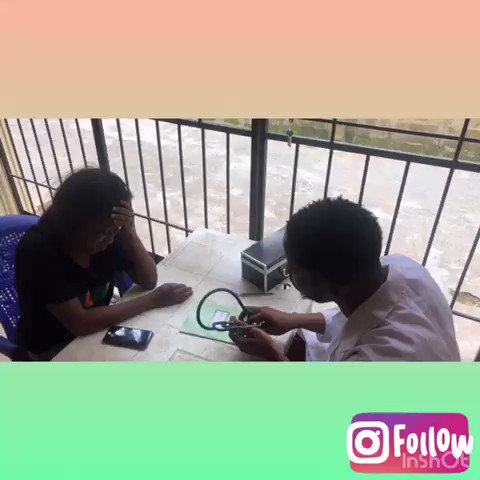 Professional doctor second part #TachaTheInfluencer #bbnaija2019 #l4l #instablog9ja #follow4follow #mercy #nollywood #oyahitme #yabaleftonline #comedy #uniosun #unilag #unilorin #kwasu  #lifeinuniosun #krakstv #funnyafricanpics #giveaway #Zlatan #Tacha #nairamarley #badinfluence