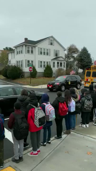 Image for the Tweet beginning: Vernon Hill School students and
