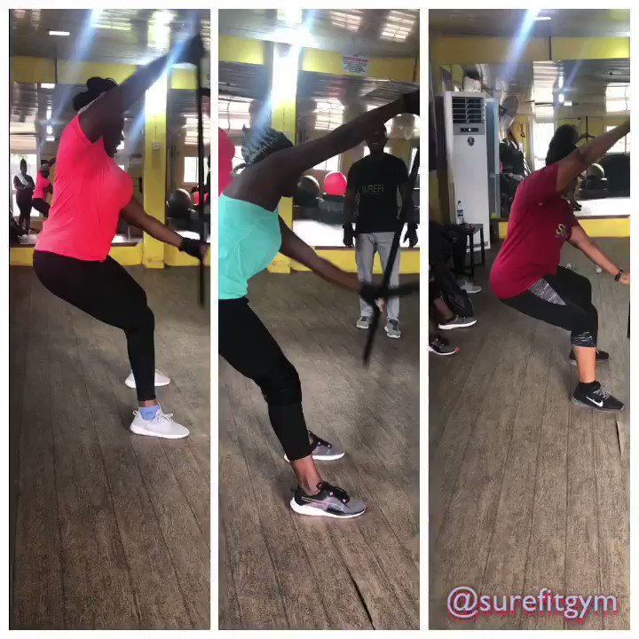 Good morning Fitfam. You won't always love the workout but you will always love the results #fitfamnaija  #fitnaijamoms  #workout  #naijafitfam  #obliqueworkout   #bodyprogress  #surefitgym  #thegymatopebi  #instafitness  #wellness  #resistancetraining  #gohardorgohome  #diehard  #nevergiveup