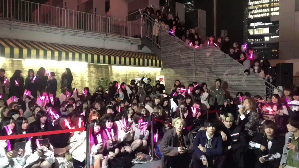 XOX(@XOX_TOKYO )9thシングル『秒針』リリースイベント@渋谷マルイ屋上  お越しいただきありがとうございました‼️伝えられるときに素直な想いを伝えられるように、ありがとうを言い残さないように。様々な想いを込めて制作しました『秒針』をこれからどうぞよろしくお願い致します🌹