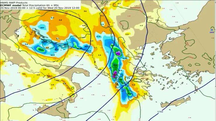 Παρότι το κυρίως σύστημα έχει κινηθεί βορειοανατολικά , διατηρείται σε ισχύ το έκτακτο δελτίο επιδείνωσης του καιρού στη χώρα μας καθώς προβλέπεται ότι θα συνεχιστούν οι κατά τόπους ισχυρές βροχές και καταιγίδες που πρόσκαιρα θα συνοδεύονται από χαλαζοπτώσεις και ισχυρούς ανέμους