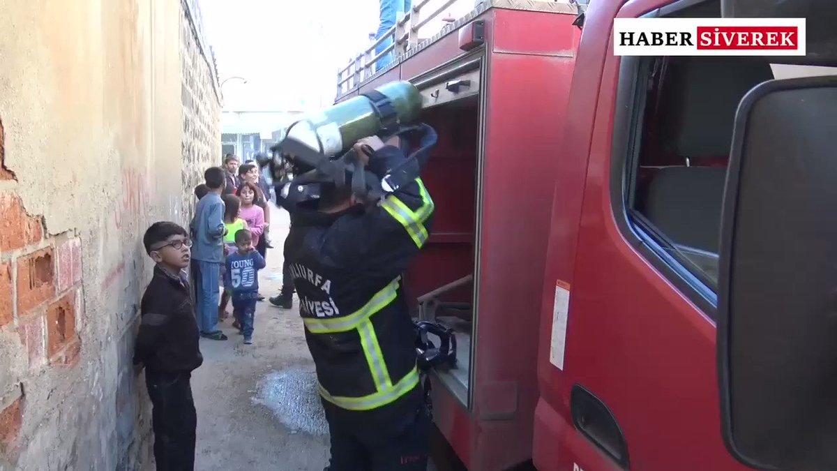 💥-Siverek'te tek başına yaşayan yaşlı adamın evi yandı.#siverek #haber #yangın #olay #urfa #keşfet