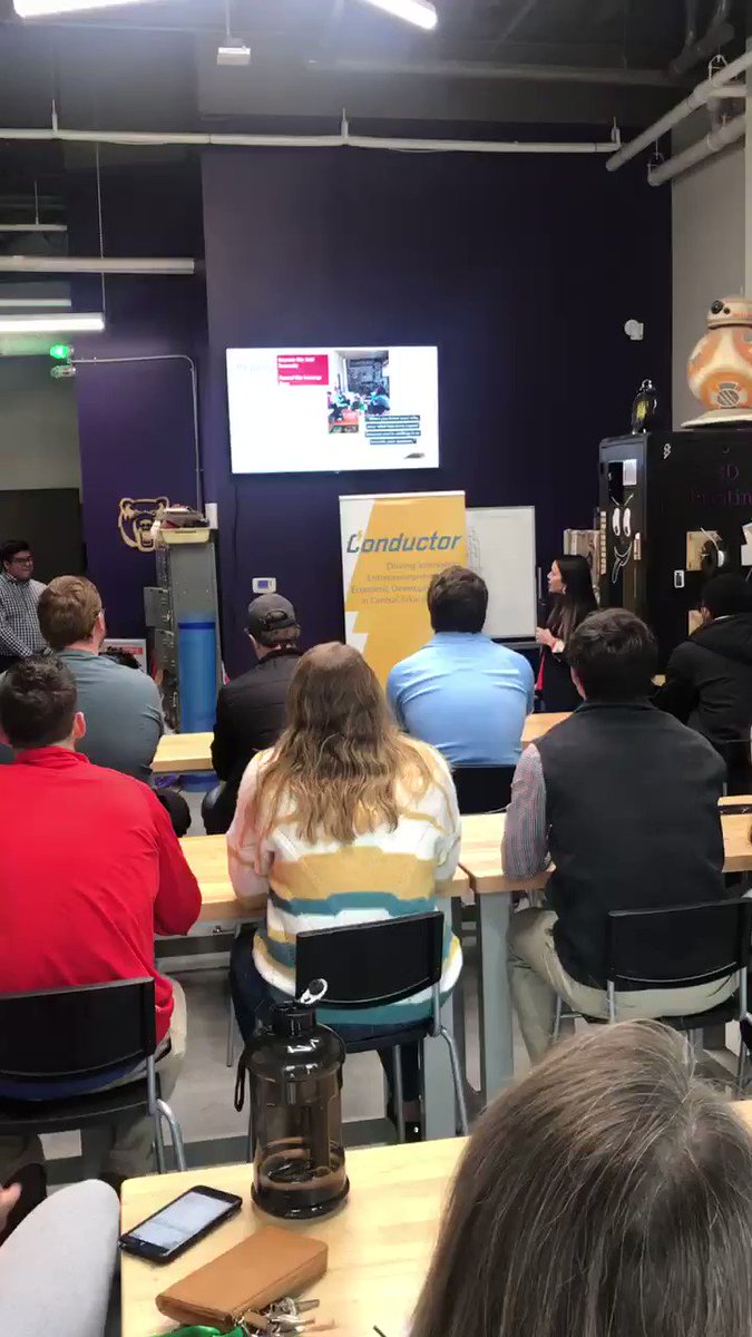 #StartupStories  with Share the Love and Erin Connor today in the Makerspace! #gew2019  #FullSteamAR