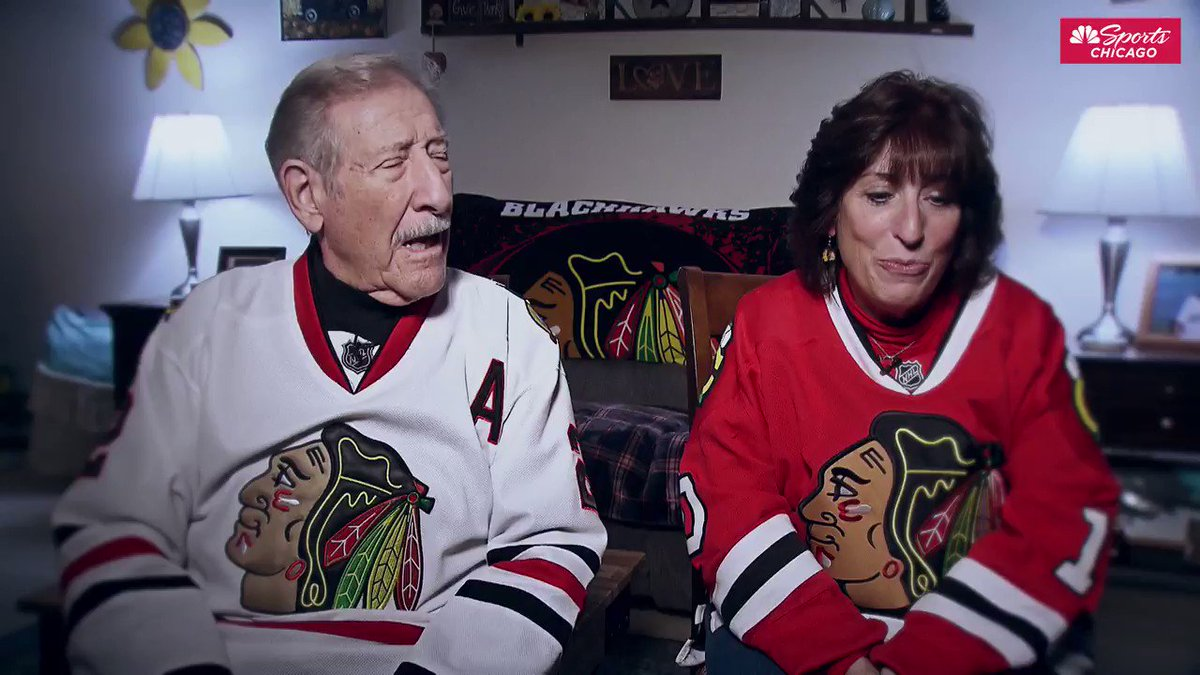What was the coolest moment you ever experienced LIVE at a @NHLBlackhawks game?Our #AuthenticFan of the Game, Karen, and her father talk about being at the Madhouse on a night Bobby Hull scored his 50th goal of the season.