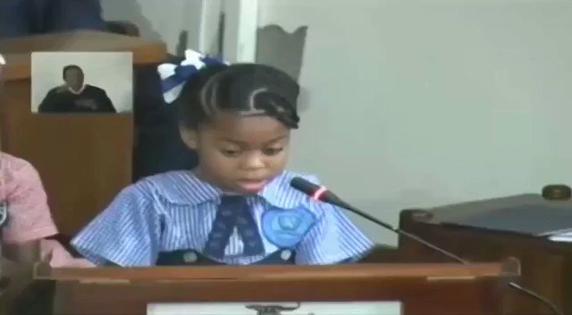 Yesterday for the first time in Jamaica's history, children were addressing a sitting of the House of Parliament in a special session focused on violence against children. Led by seven-year-old Ngozi Wright and her twin brother Tafari, each made a plea to the parliamentarians.
