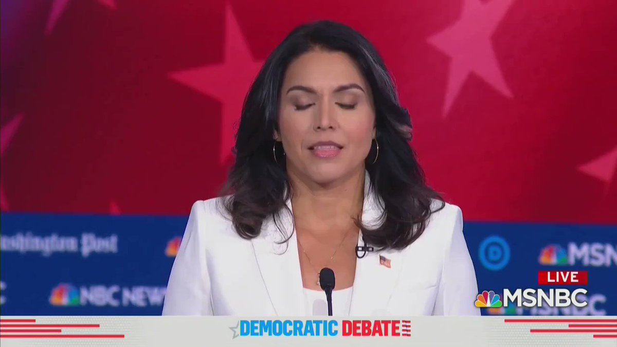 """💯""""Our Democratic Party, unfortunately, is not the party that is of, by and for the people."""" #DemDebate"""