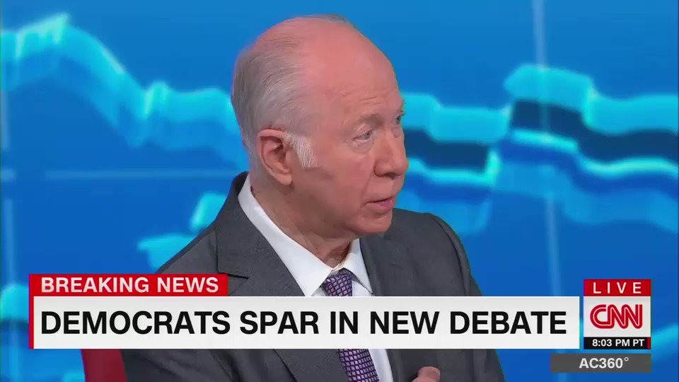 """David Gergen on Elizabeth Warren: """"There's a hectoring quality there"""""""