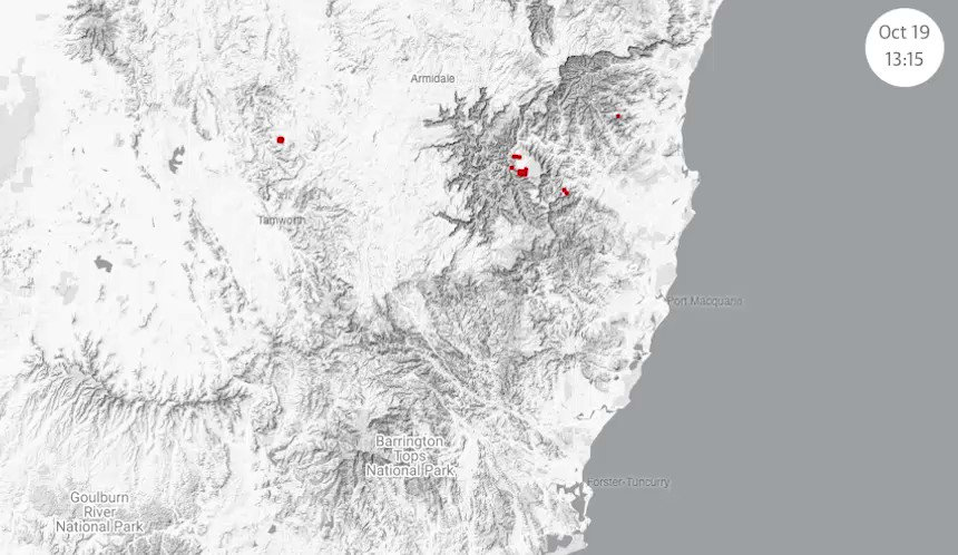 How Australias bushfires spread: mapping the fires – in which we attempt to show the scale and spread of the nsw/qld fire emergency with hotspot data theguardian.com/news/datablog/… #NSWbushfires #qldfires #qldbushfires
