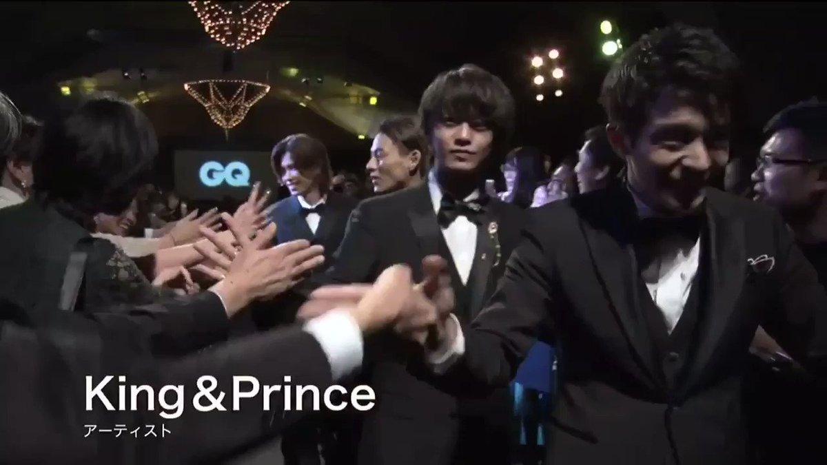 GQ MEN OF THE YEAR 2019 ポップ・アイコンズ・オブ・ザ・イヤー賞          我らがKing & Prince!!!             受賞おめでとう!!!               かっこいいーー!!