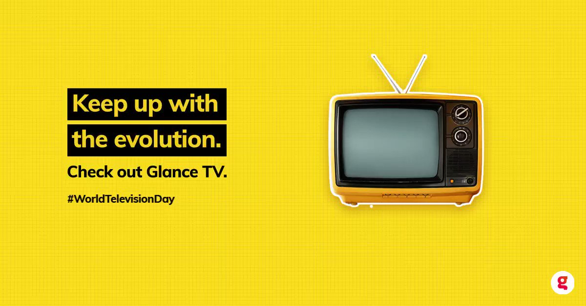 This #WorldTelevisionDay, watch entertaining shows on Glance TV. Get your Glance-enabled phone today.