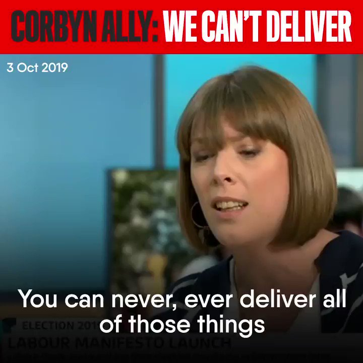 This clip was rebroadcast this morning on GMB, but for avoidance of doubt, we've replaced our original video with the original broadcast date last month Corbyn broke his manifesto promise to respect the referendum result, you cant trust Corbyn to deliver & Labour MPs know it