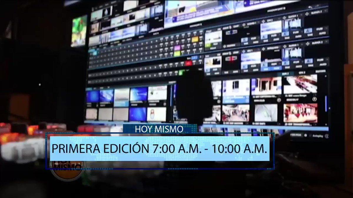 Gracias por sintonizar #HoyMismo #PrimeraEdición |Los esperamos nuevamente a las 11:00 a. m. en #HoyMismo #AlDía. Síganos en nuestras redes sociales.