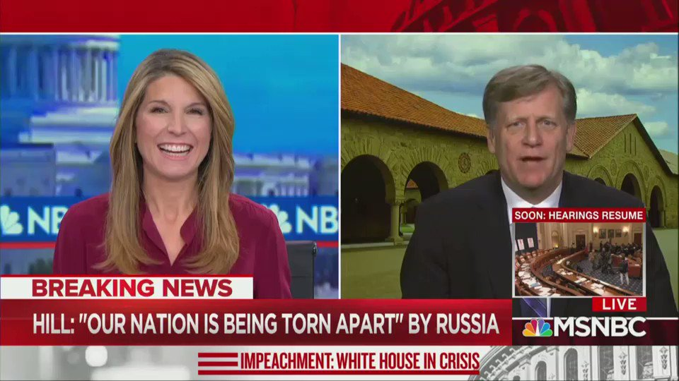 """When the president of the United States says in a call to President Zelensky 'you need to look into this CrowdStrike thing, this DNC server thing,' that is him repeating Putin propaganda.""  @McFaul makes it crystal clear: Trump is doing Russia's bidding in Ukraine."
