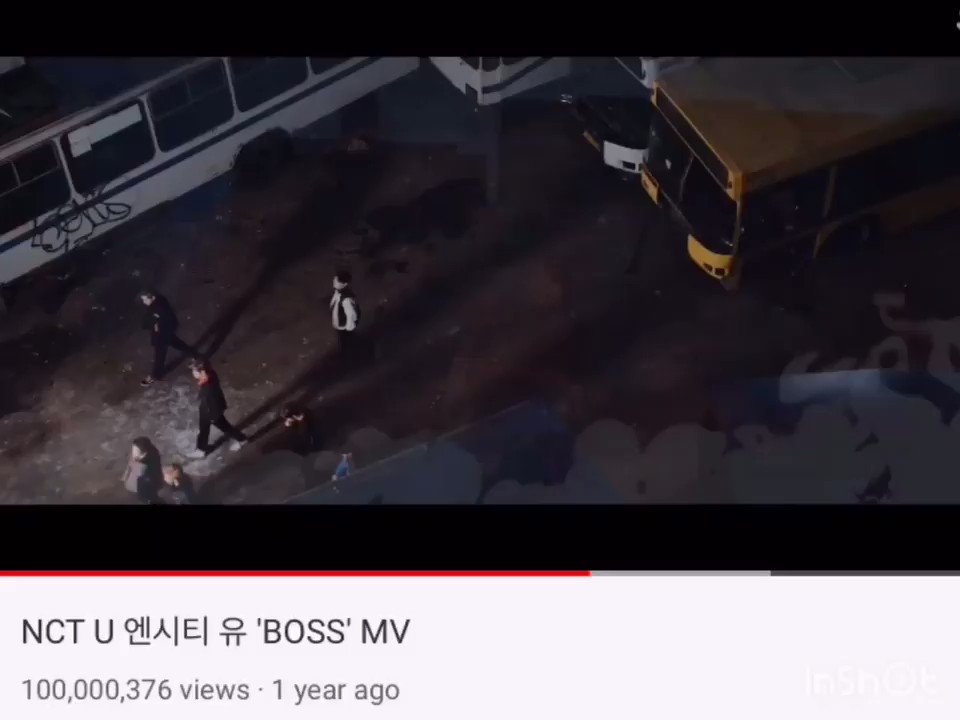 #Boss100M @NCTsmtown boss music video reached 100M views!!! 😭❤️it's the first NCT music video to reach this milestone!!! an iconic song that brought in many fans, here's to many more success~ REALLY PROUD