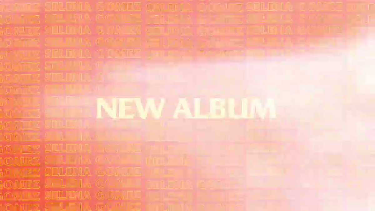 You can now preorder my new album, out January 10, 2020. This album is my diary from the past few years and I can't wait for you to hear it. Title, art and track list coming soon. ❤ smarturl.it/SelenaSG2