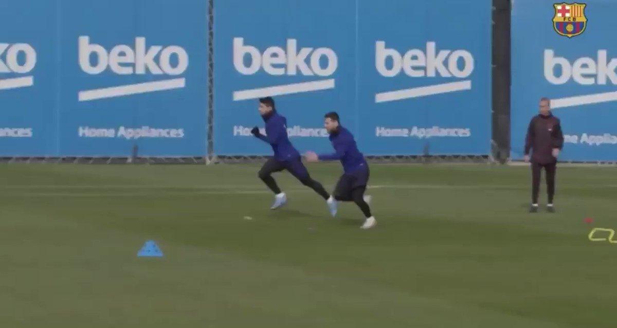 Compara las ganas de Messi con las de Suarez..