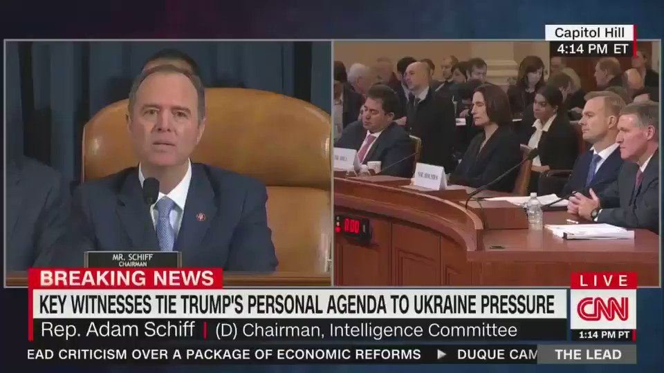 """.@RepAdamSchiff: """"Where are the people who are willing to go beyond their party to look to their duty? People look to us from all over the world...and increasingly they don't recognize what they see.""""  Text IMPEACH to 21333 to tell your rep: it's time to put country over party."""