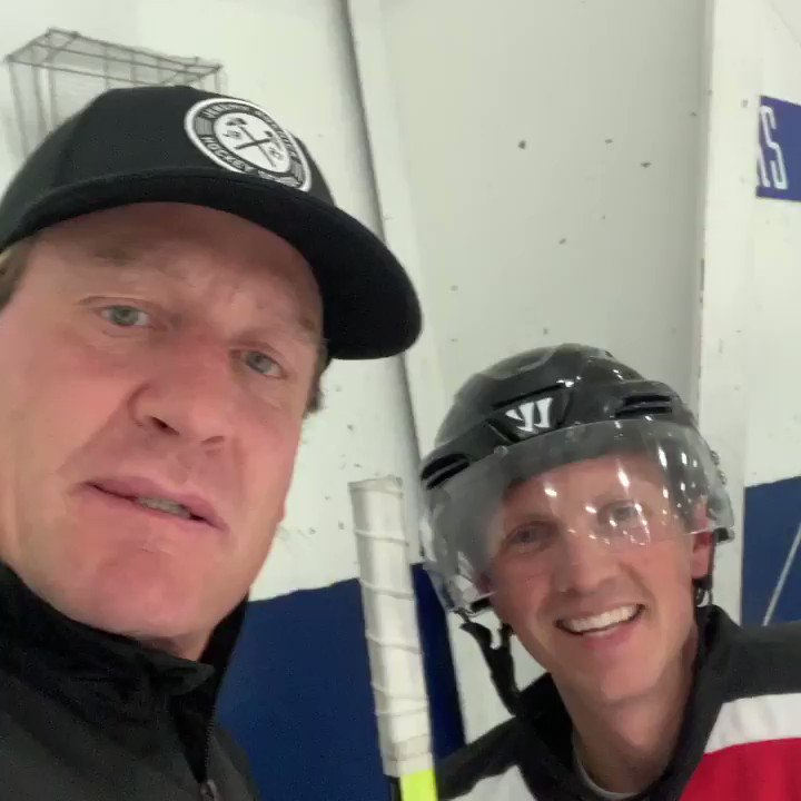 @Jeremy_Roenick and it turns out he thinks I'm an #AuthenticFan too.