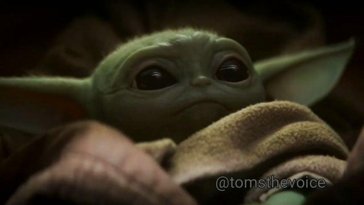 So Baby Yoda talks now