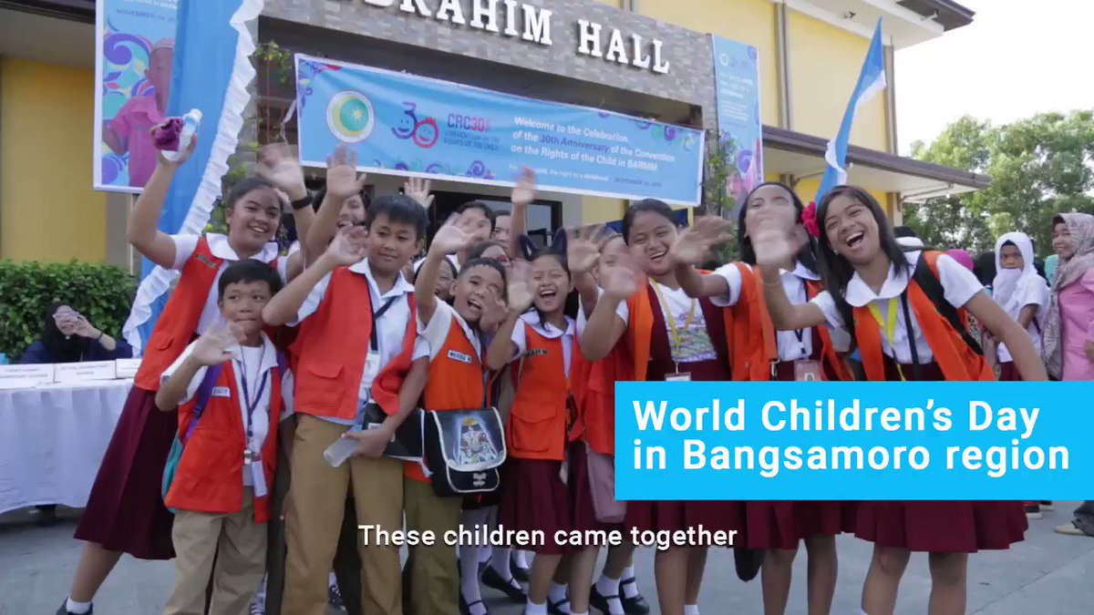 Check out highlights from our #CRC30 and #WorldChildrensDay celebration in BARMM—including the historic passing of a Parliament resolution to support the Bangsamoro Children's Declaration! #ForEveryChildEveryRight 💙🇵🇭