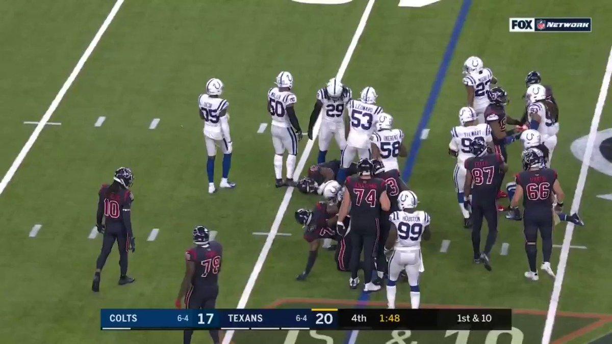 Texans – Colts: Darius Leonard said he recovered Deshaun Watson fumble