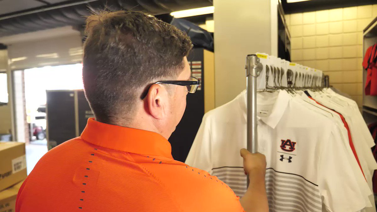 🏈From helmets to jerseys to footballs and more, Dana Marquez and his team are behind the equipment that helps make an #Auburn football game come to life! #AuburnGameFace >> aub.ie/gameface <<