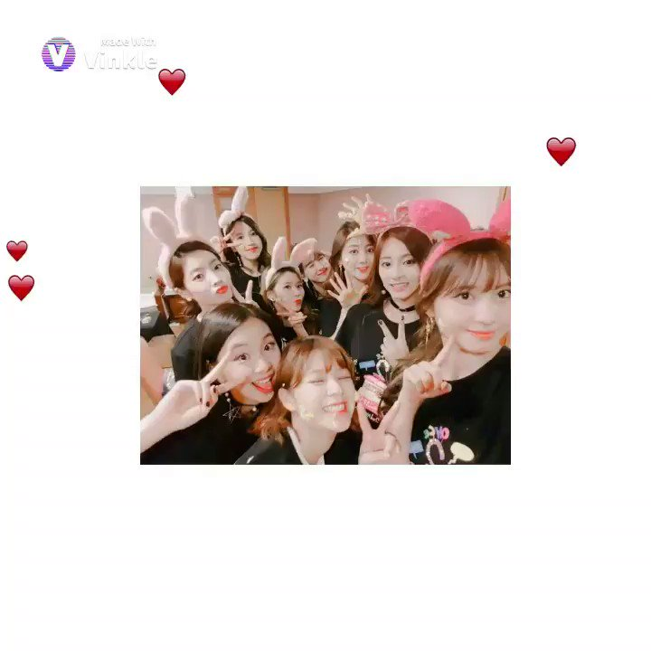 omg, I just tried to edit with this app btw I find it cute. so, i'll leave it here. #TWICE #TWICE_GOGOFightin
