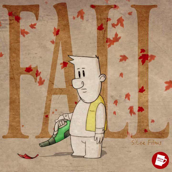 The Fall Guy! Autumnal animation 🍂 Animated in @ToonBoom Harmony & #aftereffects #2danimation