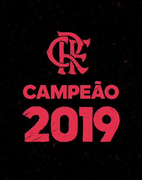 Campeão 2019. 🏆 @Flamengo