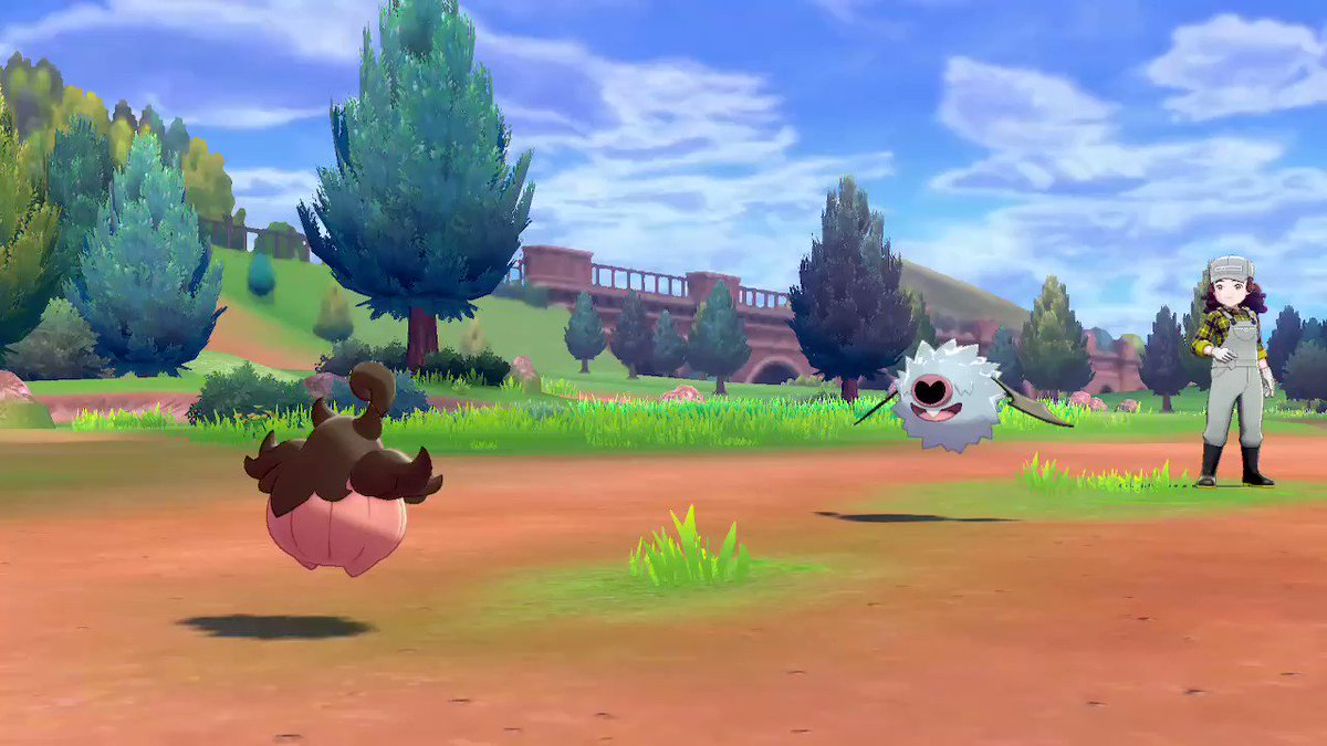 Trick-or-Treat. Adorable. #PokemonSwordShield #NintendoSwitch