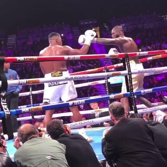 Deontay Wilder folded Ortiz! 💣 SHEESH! (via IG/ticket_jerry)