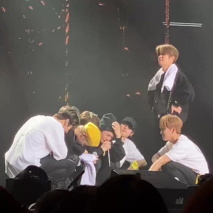 hyunjin said, while crying his heart out, well work even harder to become a stray kids that we are not ashamed of. to which skz agreed and stay cheered. I love them so, so much and that will never ever change. #District9_Unlock