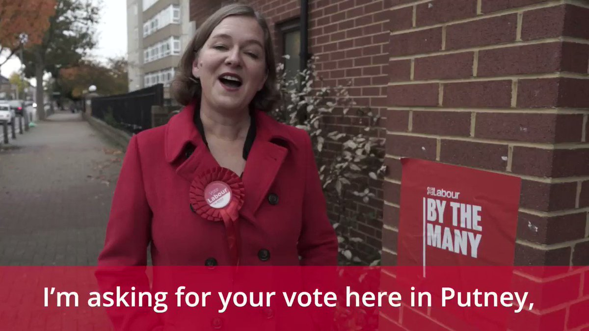 Labour nearly won in Putney at the last election and it is going to be close this time. Labour can beat the Conservatives here. I will stand up for you on all the issues that count. Watch this video from my campaign launch. #VoteLabour #Putney #Roehampton #Southfields #GE2019