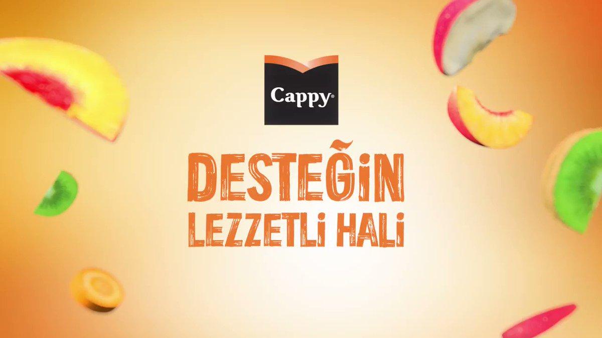 C vitamini, B12 vitamini ve çinko, meyvelerin lezzetiyle Cappy Destek'te buluştu. Desteğin lezzetli hali, yepyeni Cappy Destek. https://t.co/H7h3bOUGzk