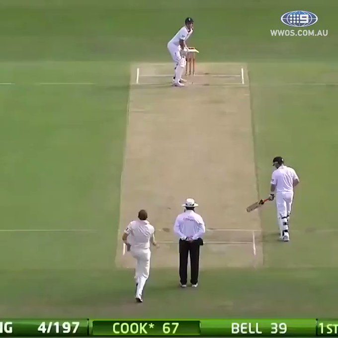 One of the greatest moments of all time.   Happy Birthday Peter Siddle, and thank you.